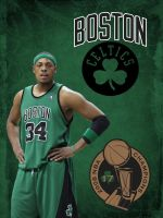 Paul Pierce Boston Celtics by krkdesigns