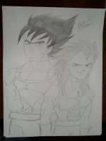 Vegeta and Articha by HotIceHilda2011