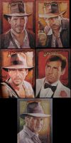 Final Indy Sketchcards by TrevorGrove