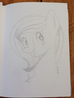 Rose- Sketch Request for SnoopyROCKS2 by icyfrostcats