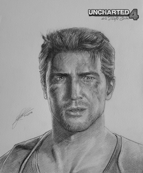 Nathan Drake (Uncharted 4: A Thief's End) by ZigArtwork