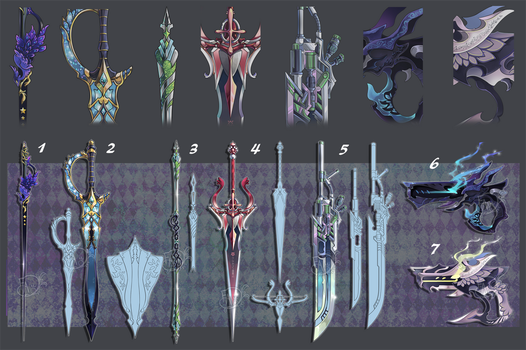 Weapon Adoption 56 CLOSED by Forged-Artifacts