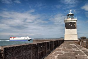 Breakwater Lighthouse by CharmingPhotography
