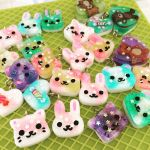 Resin charms by BBEEAARR