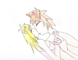 LucyXleo Kiss Color Pencil by Finny-KunGoddess
