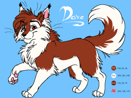 Dave Reference Sheet by PsychicPsycho