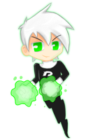 DP:..::Chibi Danny Phantom::.. by xelliMetallium