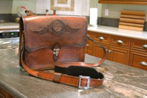 Messenger Bag Two by Blackthornleather