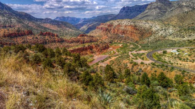 HDR Salt River Canyon by RayM0506