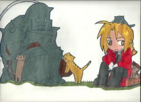 Full Metal Alchemist KITTIES by NyahNikki