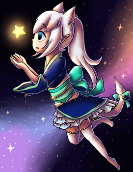 [Collab] Reach for the Stars by sheenaxlover