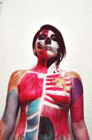 Anatomy Bodypaint by 00kin00