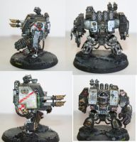 Black Templar Dreadnought by The-Nezumi