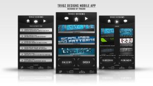 Mobile App Design by TriigzHD