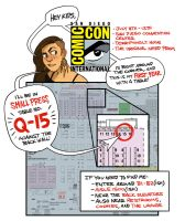 SDCC 2015 - Small Press Q-15 by shoomlah