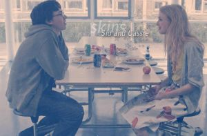 Skins: Sid and Cassie by LeanneHailer