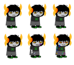 All Necrux Sprites so far. by AlisatheRaptor13
