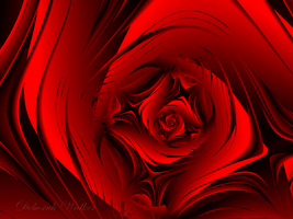 Red Rose By Pixel by DWALKER1047