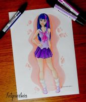 Human Twilight Sparkle by Letquestria