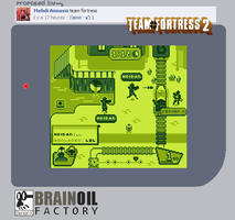 Team Fortress 2 meets the GameBoy by Senior-X