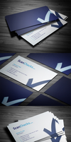 Smart Checkmark Business Card by FlowPixel
