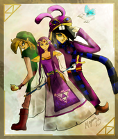 A Link Between Worlds: Connect 4 by elfyjello