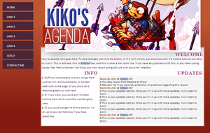 Kikos agenda custom layout by maddieover
