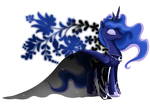 Princess of Equestria - Luna by selinmarsou