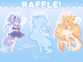 . RAFFLE OPEN . UNTIL 30th of june by ValyrianAdopts