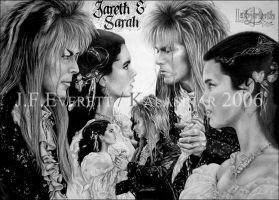 Labyrinth - Jareth and Sarah by Kalasinar