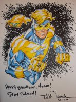Booster Gold: Stay Golden by ToddNauck