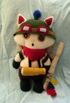Disoriented Captain Teemo Plushie by XOFifi