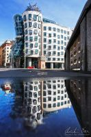 Dancing House by Nightline