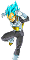 Vegeta Super Saiyan Blue 4 by alexiscabo1