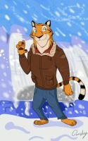 Mikhail The Tiger by Quirky-Middle-Child