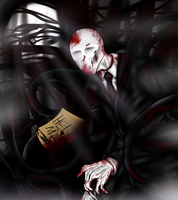 Slender Man by ZombieRay10