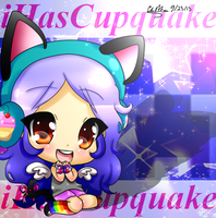 ~~~~~~~~iHasCupquake Fan-art~~~~~~~~ by glaceonpower