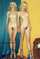 The Sisters Blonde by thefamilynude