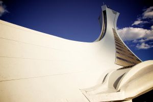 Olympic Stadium Montreal by kangmlee