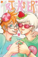John and Dave - Trickster Bros by blk-kitti