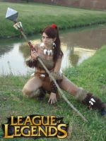 Nidalee Cosplay by Aleeusha