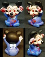 Evil Baby Mickey by Undead-Art