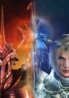 SC: Fire and Ice by Cristal-Knight