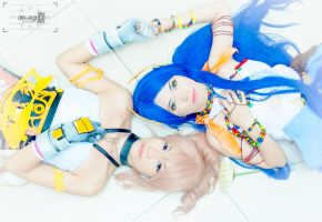 Serah and Yeul by kyashii4