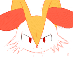Braixen by madbowser