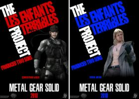MGS: The Movie both posters by dannigoestohollywood