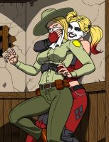 HARLEY's REVENGE [COMMISSION] by Kaywest