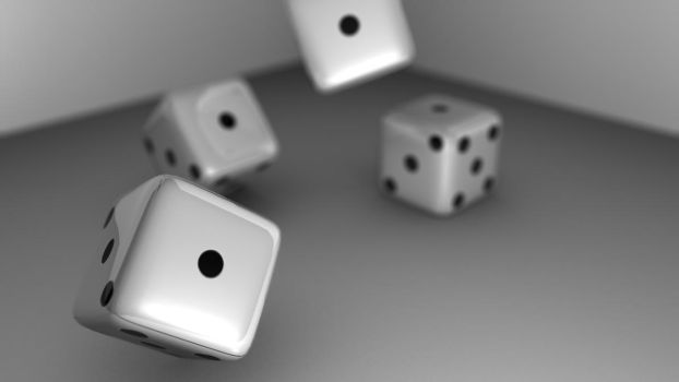 Blender 3D Dice by Darkdragon15