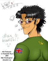 Alan Is Beautiful by dashassfrost
