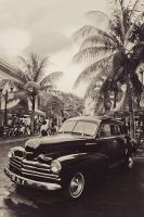 classic car in kota tua by sisank